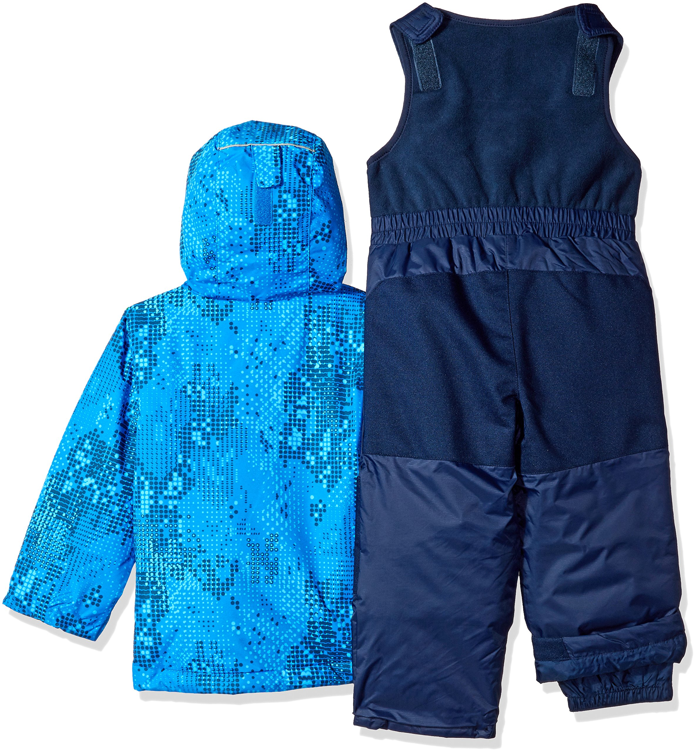 Columbia Little Boys' Frosty Slope Set, Super Blue Energy Dot, 4T by Columbia (Image #2)