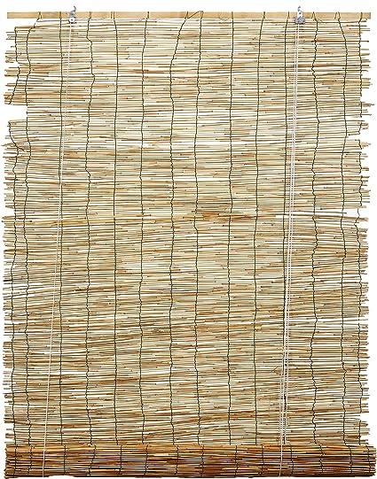 Italfrom Arella (Bamboo Varios Tamaños canniccio Mampara Sombra Cortina con Polea (120 x 260 cm): Amazon.es: Hogar