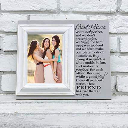 Amazon.com - Maid of Honor Bridesmaid Gift Picture Frame 12\