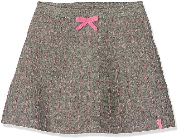 Noppies G Skirt Knit Short Holbrook Falda, Gris (Anthracite C243 ...
