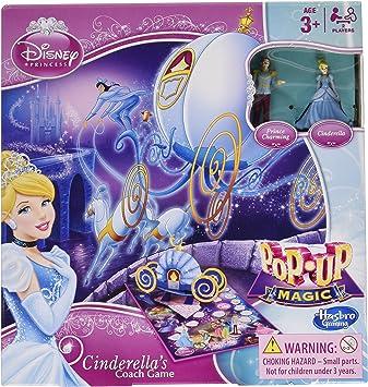 Hasbro - Princesas Disney, Juego de Mesa, para 2 Jugadores (versión en inglés): Amazon.es: Juguetes y juegos