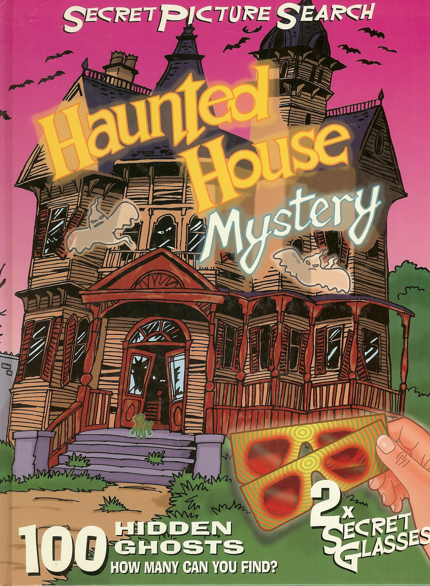 Haunted House Mystery: Secret Picture Search (Secret Picture