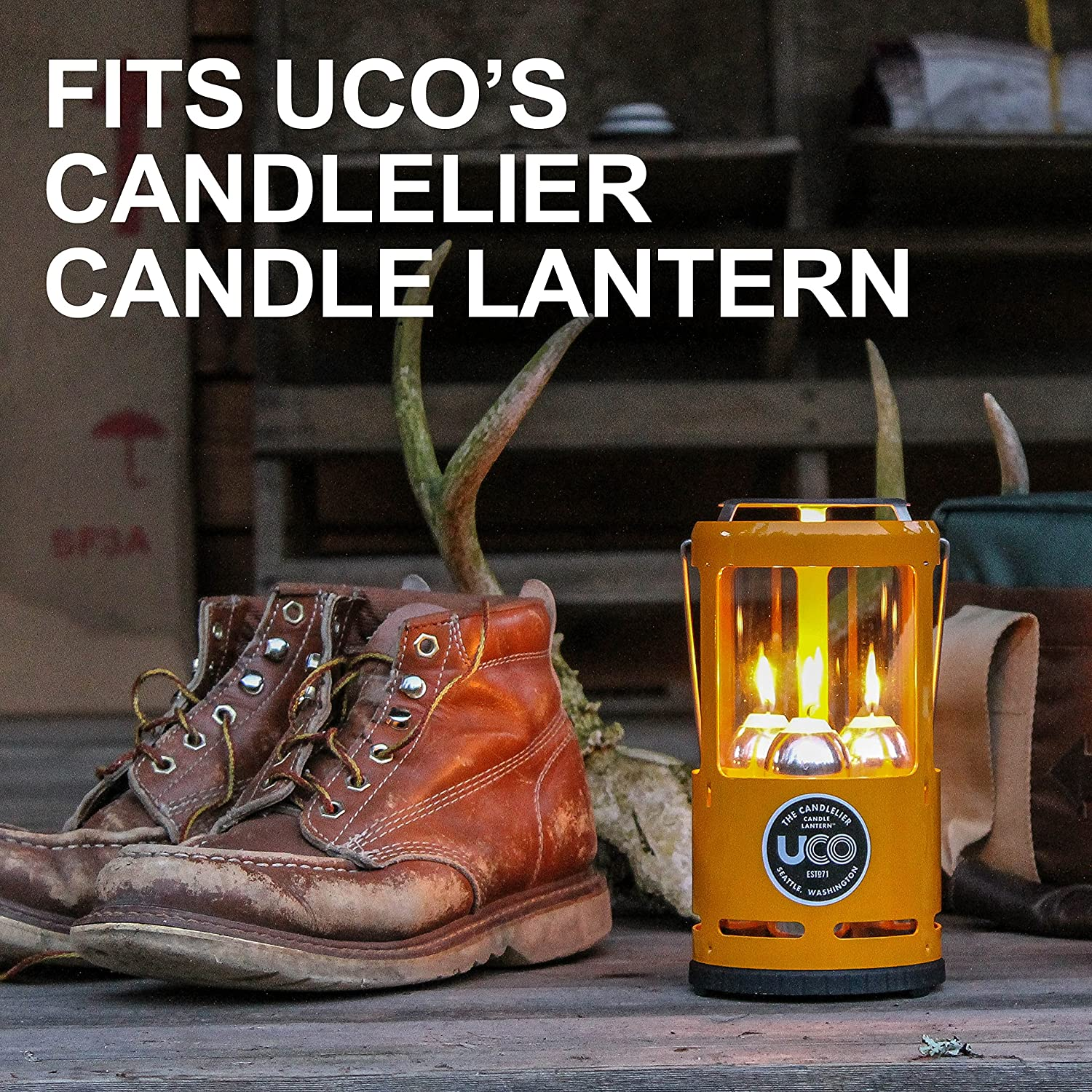 UCO 9 3.5 Inch Hour Candles for Candle Lanterns