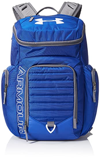 brand new d4aeb f024b Under Armour Storm Undeniable II Backpack, Royal  White, One Size