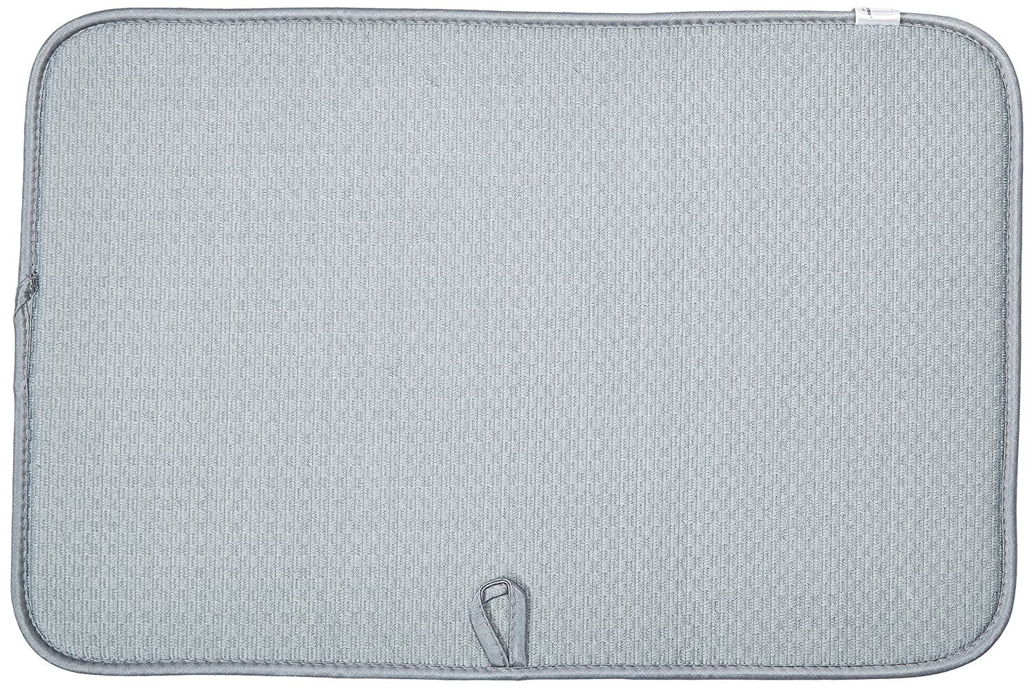 Norpro 18 by 12-Inch Microfiber Dish Drying Mat Gray