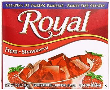amazon com royal bilingual gelatin fat free dessert mix rh amazon com