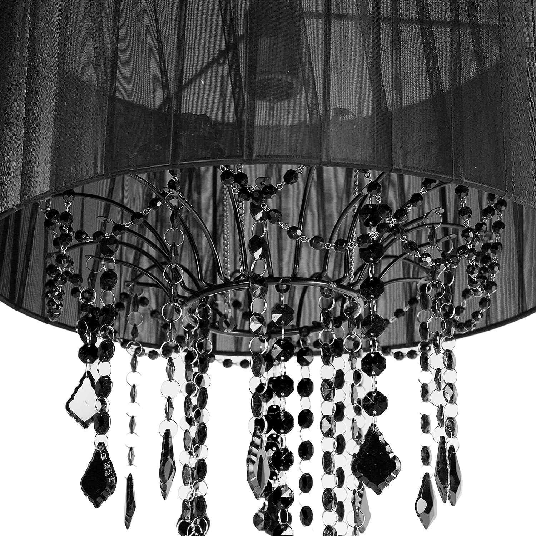 sc 1 st  Amazon.com & Amazon.com: Tadpoles One Bulb Shaded Chandelier Black: Baby azcodes.com