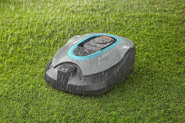 La Gardena Sileno + en action sous la pluie