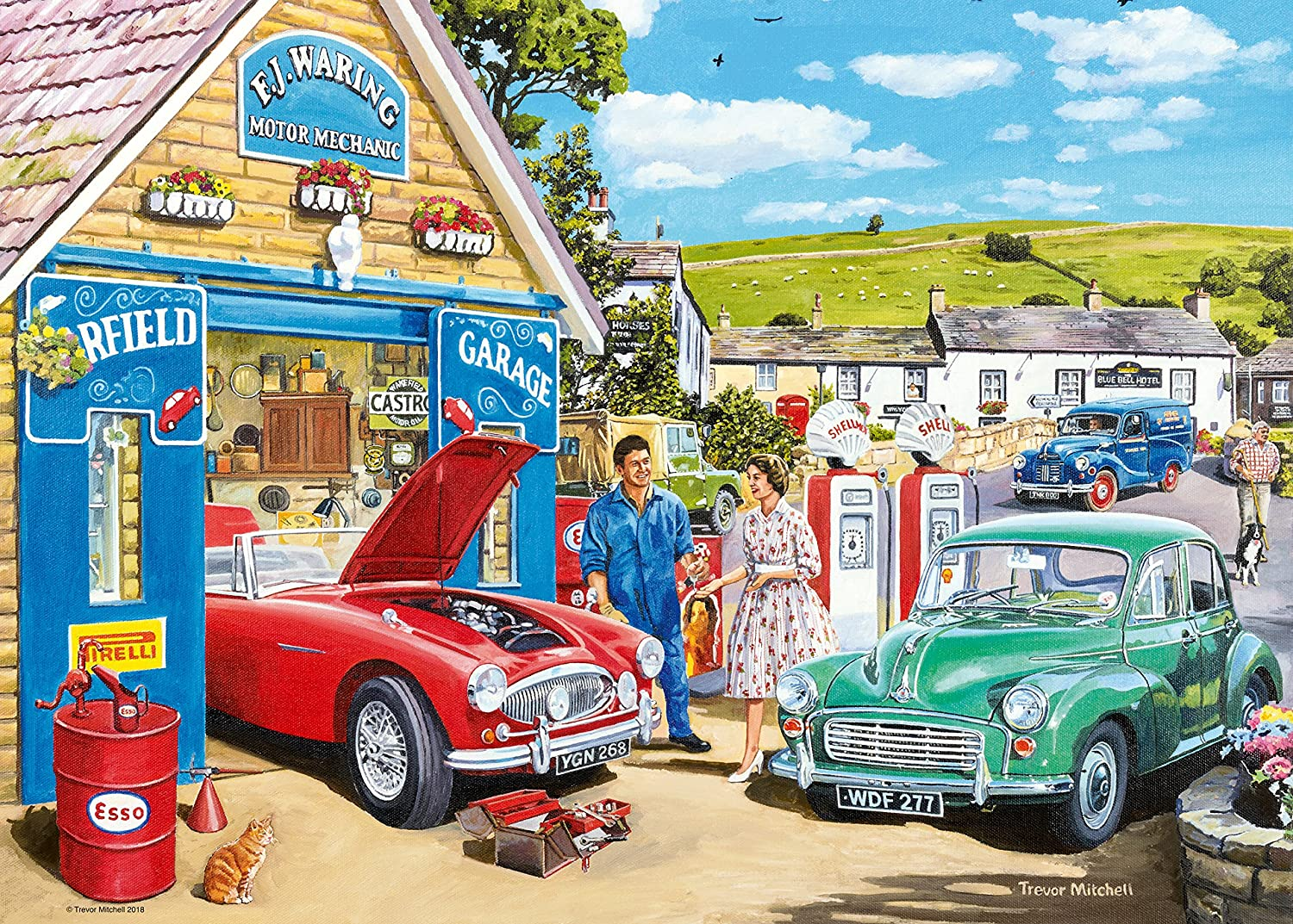 Ravensburger The Country Garage 1000pc Jigsaw Puzzle