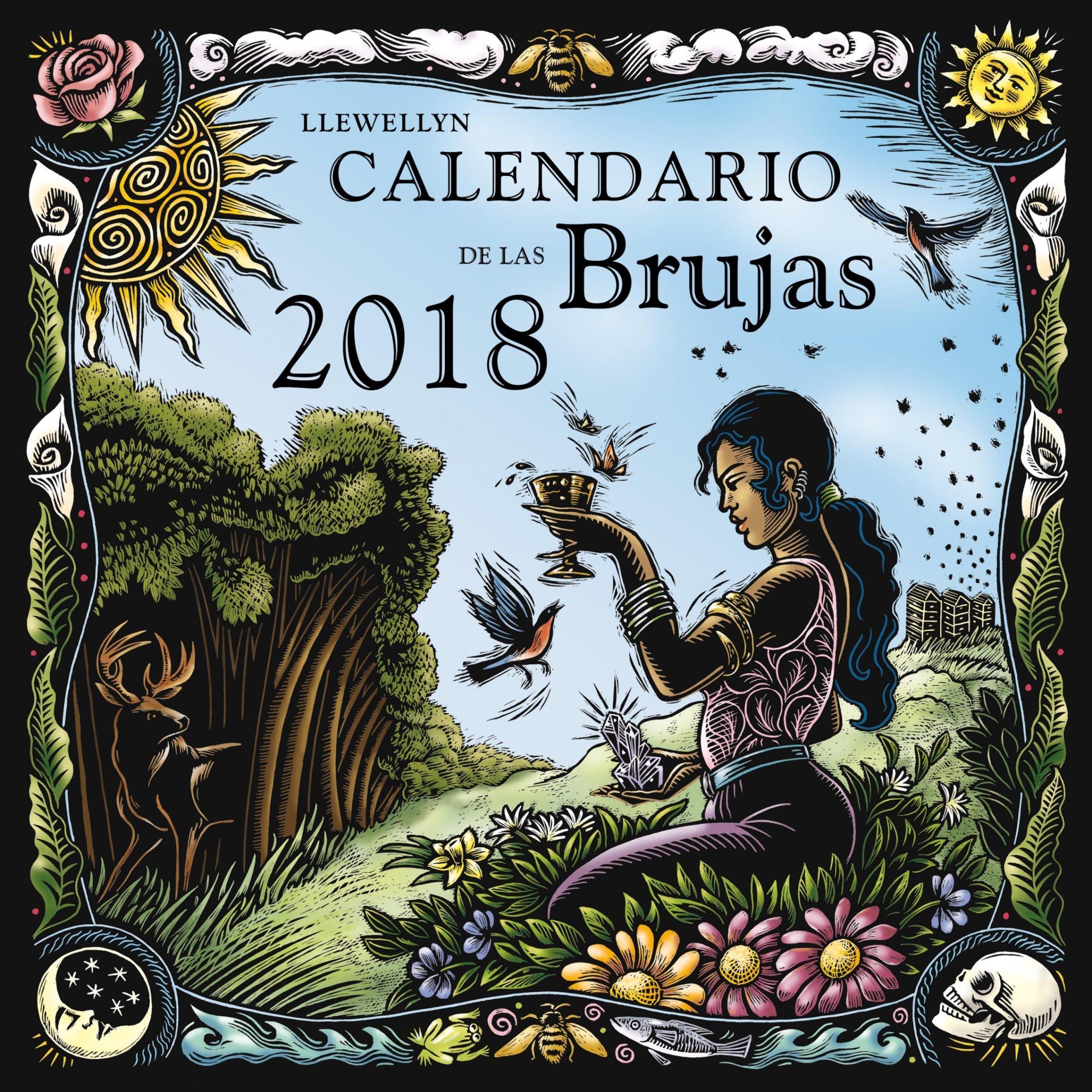 Calendario de las brujas 2018 (Spanish Edition)