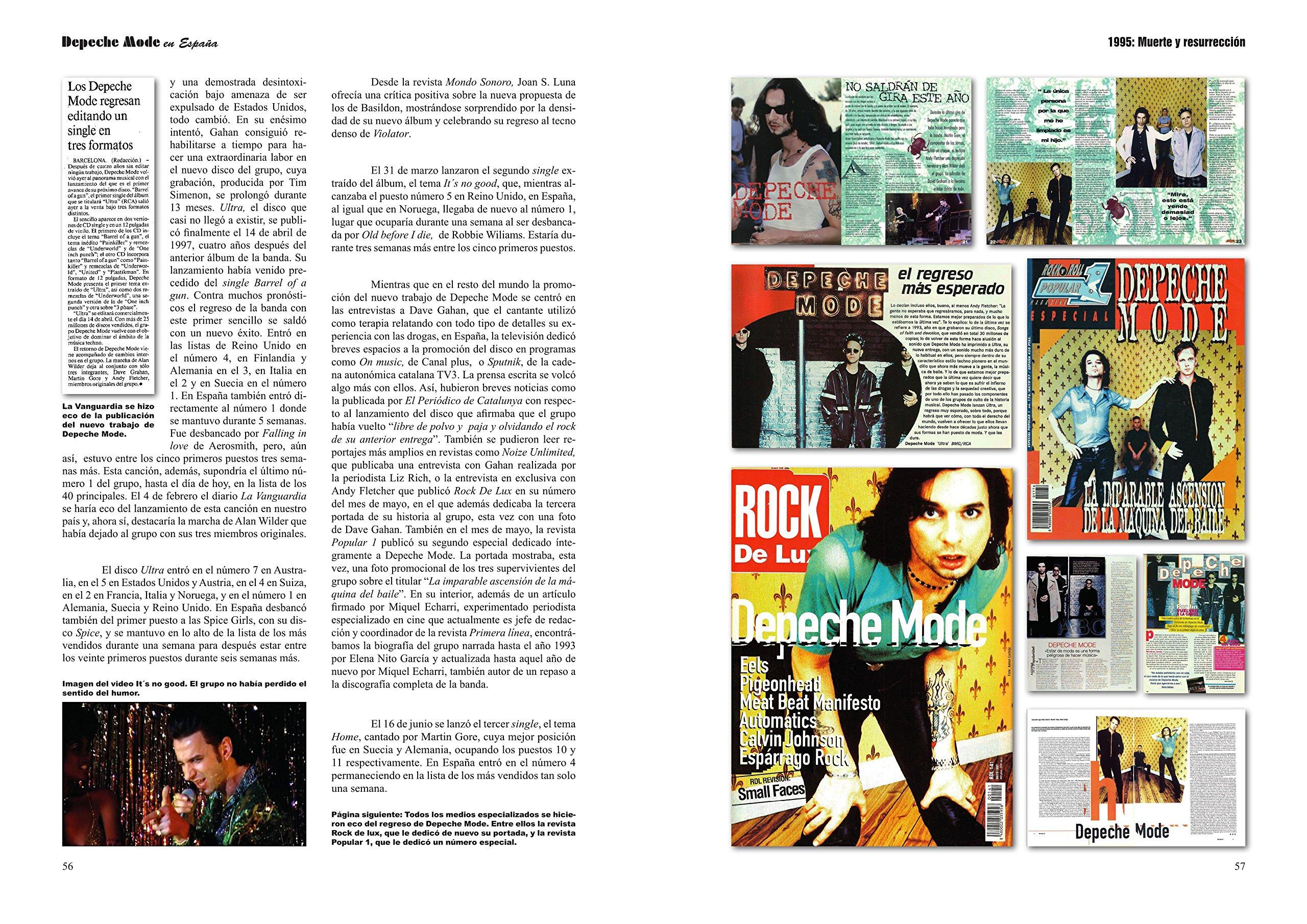 Depeche Mode en España: Amazon.es: Gustavo Jiménez: Libros