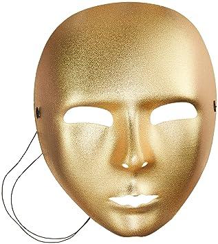 Disfraz mascara de oro