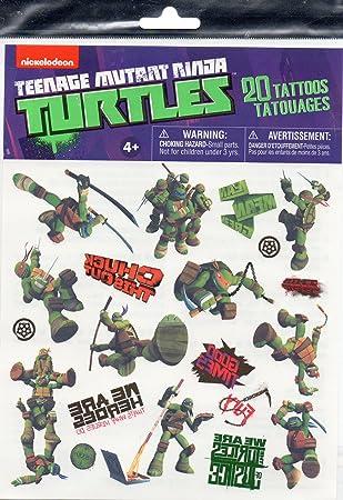 Amazon.com: Teenage Mutant Ninja Turtles 20 Tattoos Party ...