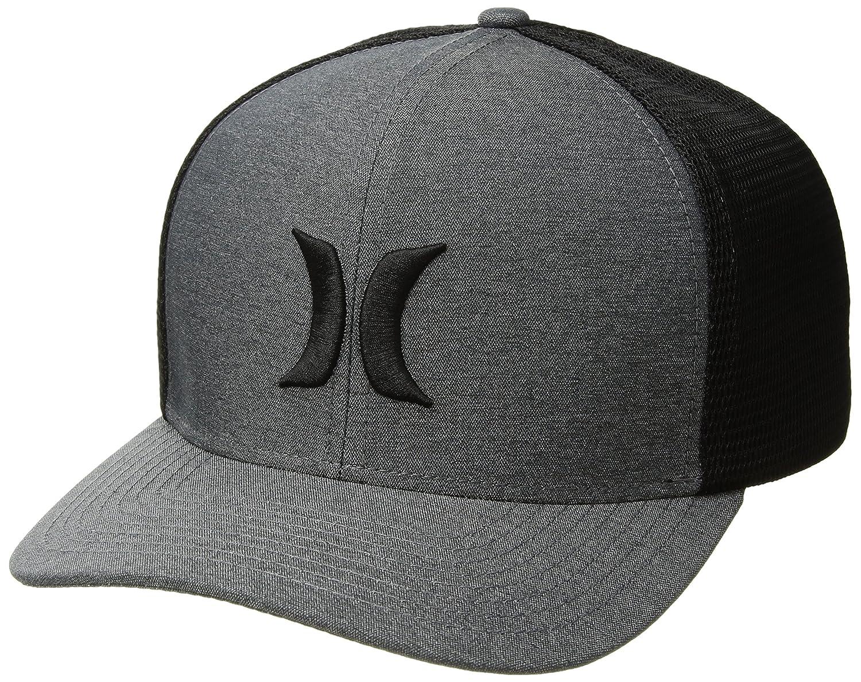 80e8363975e Hurley mens one and textures snapback curved bill trucker hat clothing jpg  1500x1188 Hurley snapbacks
