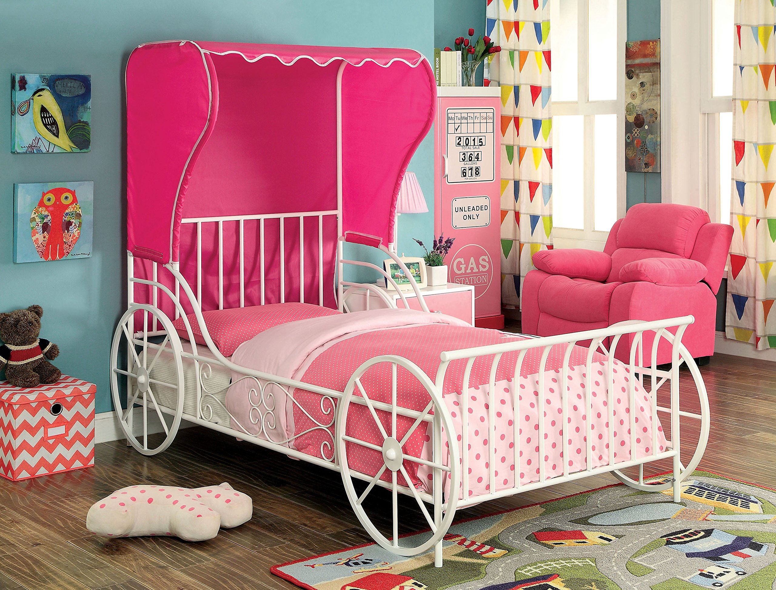HOMES: Inside + Out IDF-7715T Rane Novelty Bed Childrens Frames, Twin