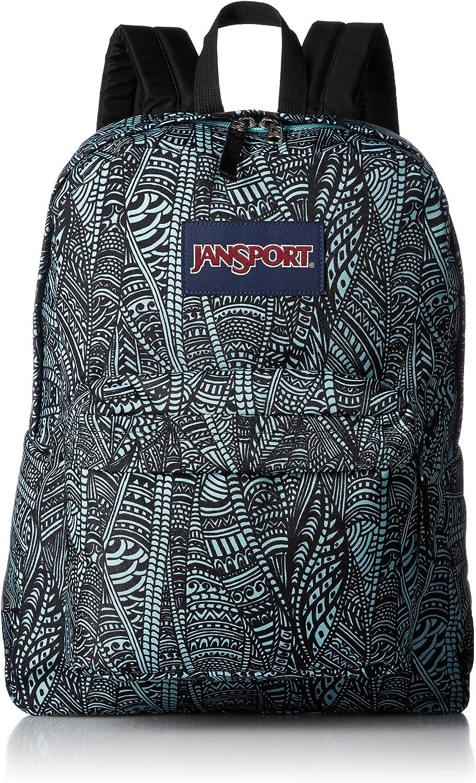 JanSport Unisex Superbreak Aqua Dash Scribbled Ink One Size
