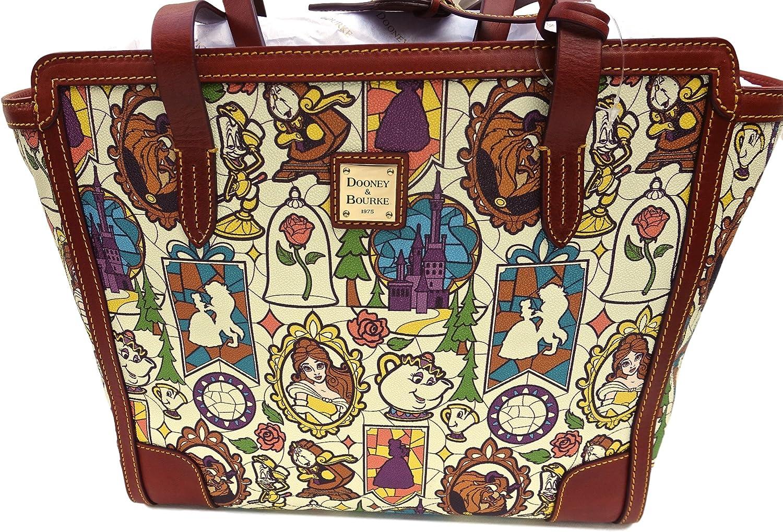 Disney Dooney Bourke Bag Beauty And The Beast Shopper Tote 41989 Amazon Ca Shoes Handbags