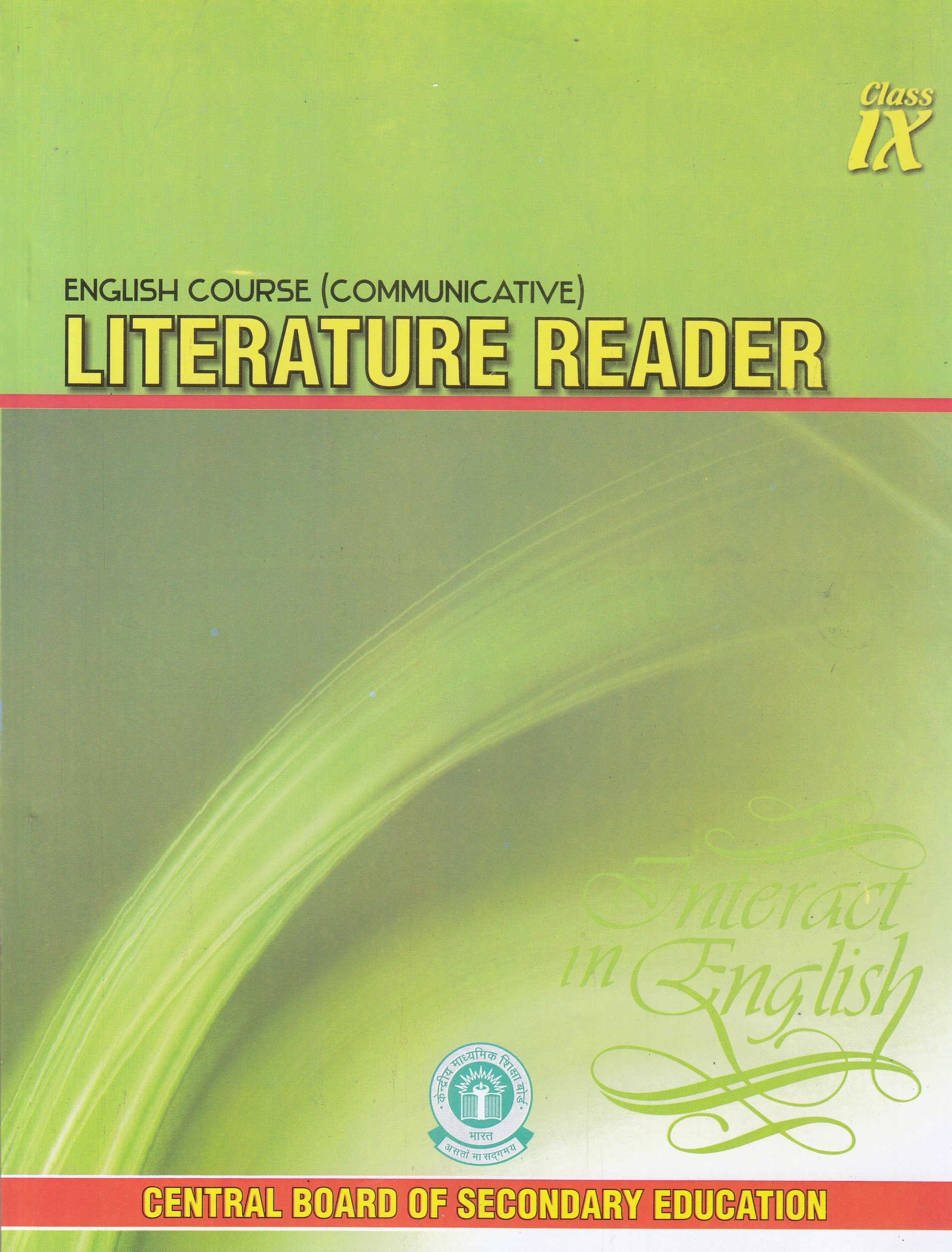 Ncert Class 10 English Literature Book Pdf