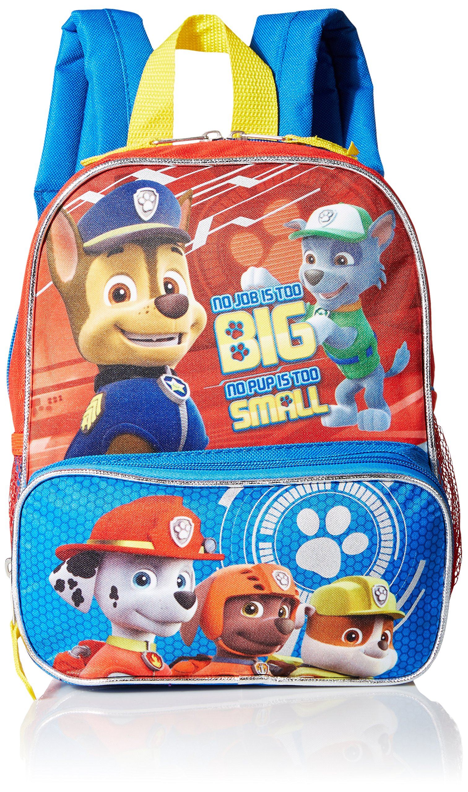 Paw Patrol Boys' 10 Inch Backpack Puppy Job Multi One Size 6