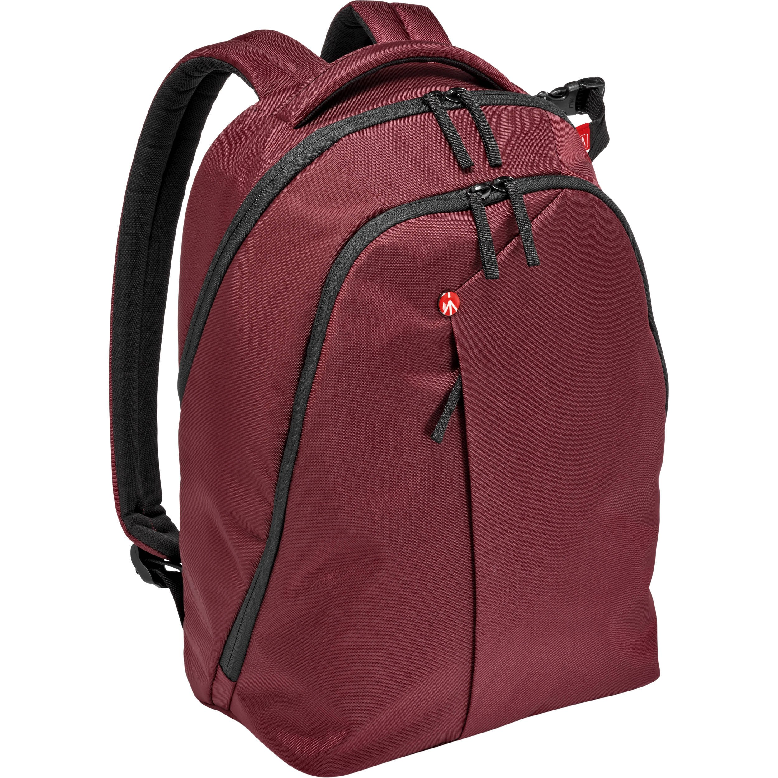 Manfrotto MB NX-BP-VBX Backpack for DSLR Camera, Laptop & Personal Gear (Bordeaux)