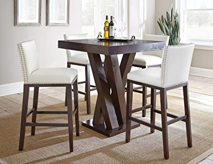 silver example pittsburgh cupboard dinette table product furniture steve room alamo outlet gray dining set