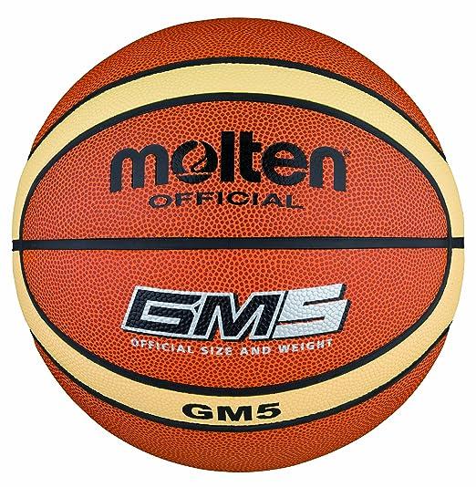MOLTEN BGM5 Basketball - Pelota de Baloncesto: Amazon.es: Deportes ...