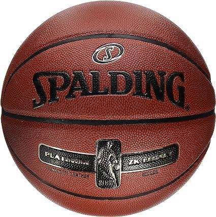 Spalding NBA Platinum Legacy 76-017Z Balón de Baloncesto, Hombre ...