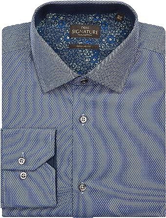 next Hombre Camisa Signature Corte Estándar Textura Regular ...