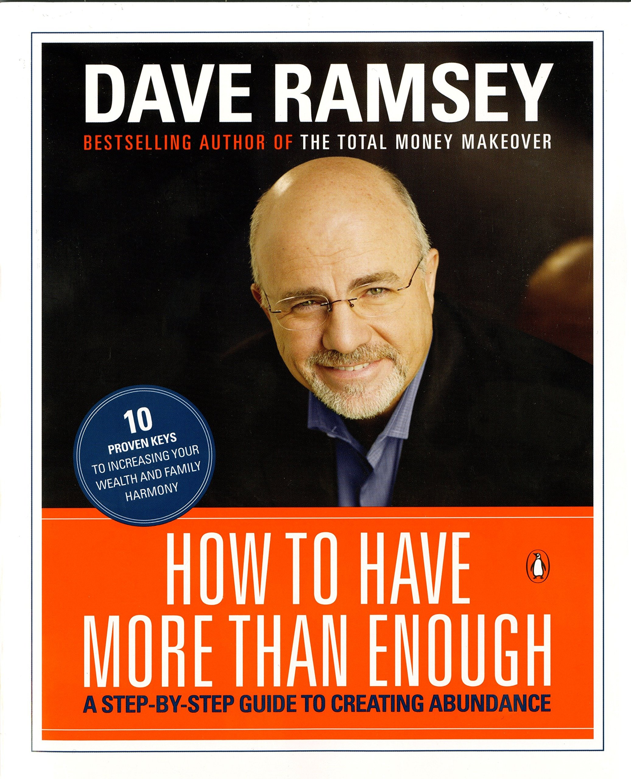 b62195563 How to Have More than Enough: A Step-by-Step Guide to Creating Abundance: Dave  Ramsey: 9780140281934: Amazon.com: Books
