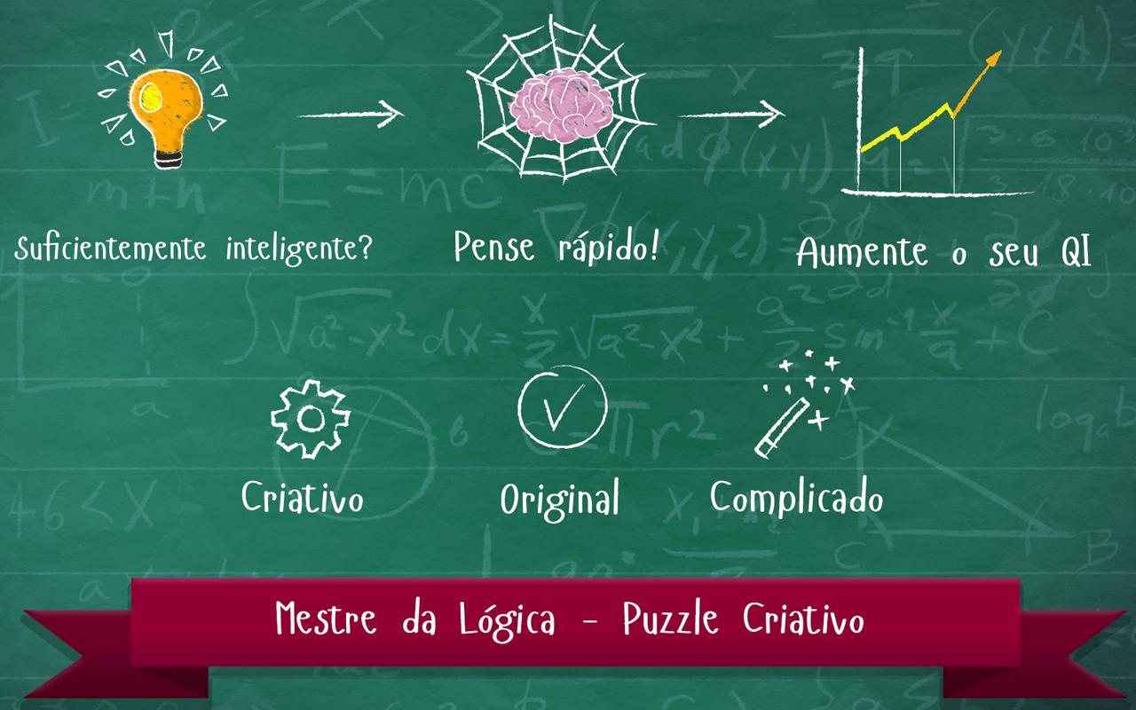 Mestre da Lógica - Puzzle Criativo: Amazon.com.br: Amazon