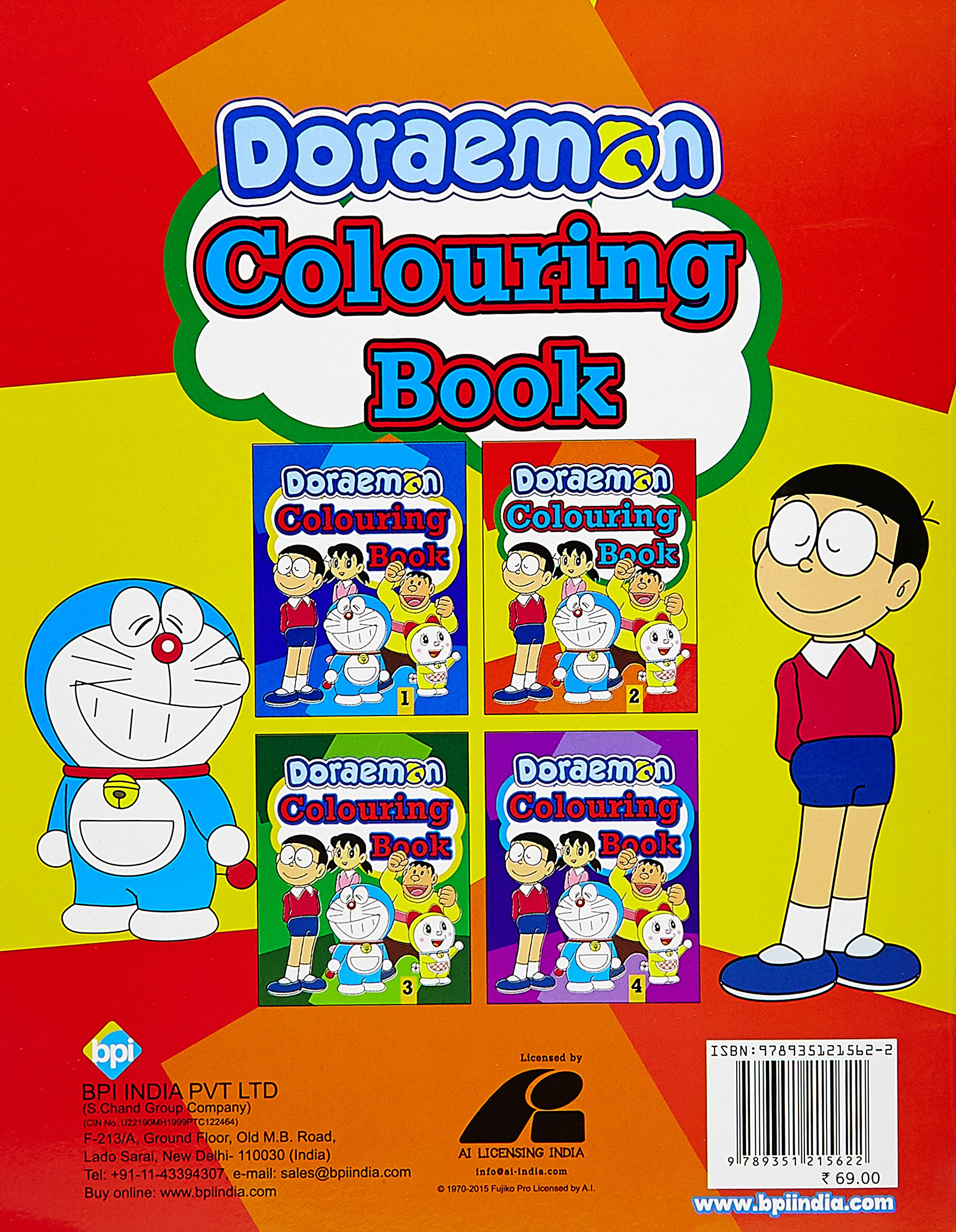 buy doraemon colouring book 2 book online at low prices in india doraemon colouring book 2 reviews ratings amazonin - Doraemon Colouring Book