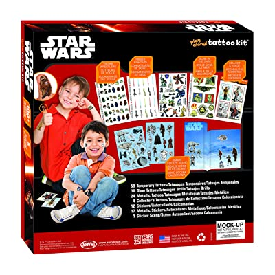 Savvi Star Wars Play Along Temporary Tattoo and Sticker Activity Kit: Toys & Games