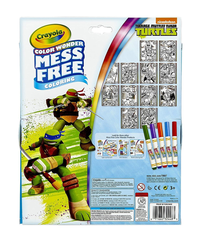 Amazon.com: Crayola, Teenage Mutant Ninja Turtles, color ...