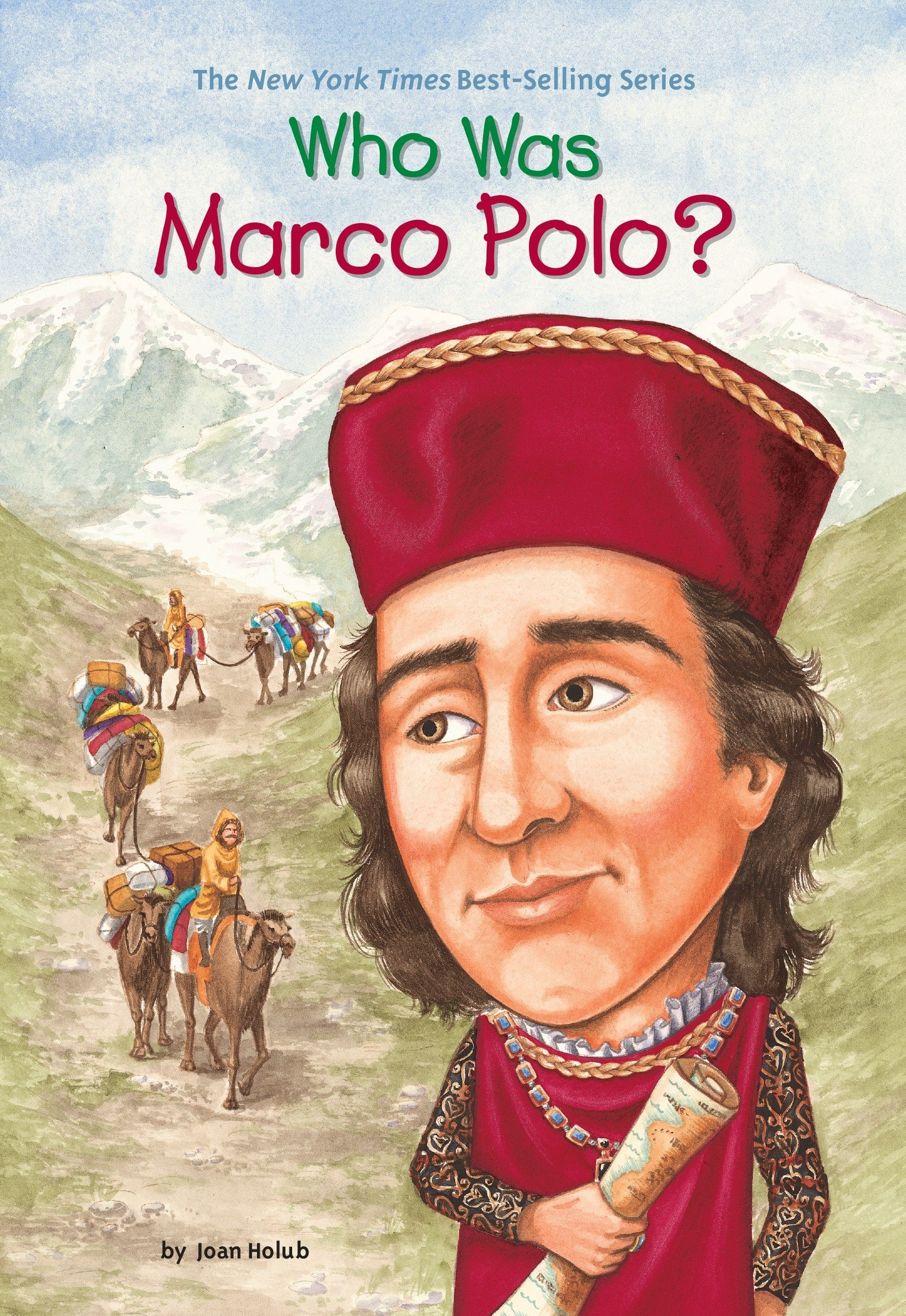the best attitude dd263 950a2 Who Was Marco Polo?: Joan Holub, Who HQ, John O'Brien ...