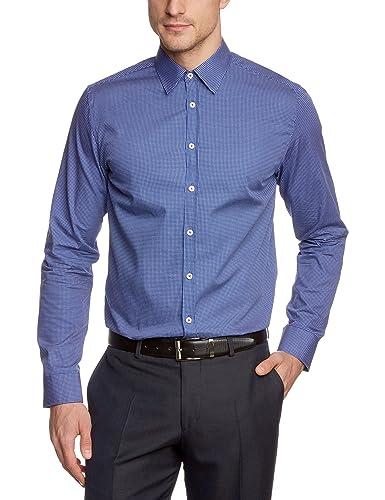 Seidensticker Herren Slim Fit Businesshemd UNO SUPER