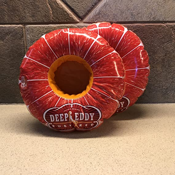 Deep Eddy Vodka Inflatable Coasters (Set of 2)