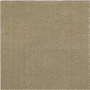 Achim Home Furnishings NXCRPTTN12 Nexus Tan 12 inch x 12 inch Self Adhesive Carpet Floor Tile, 12 Tiles/12 Sq