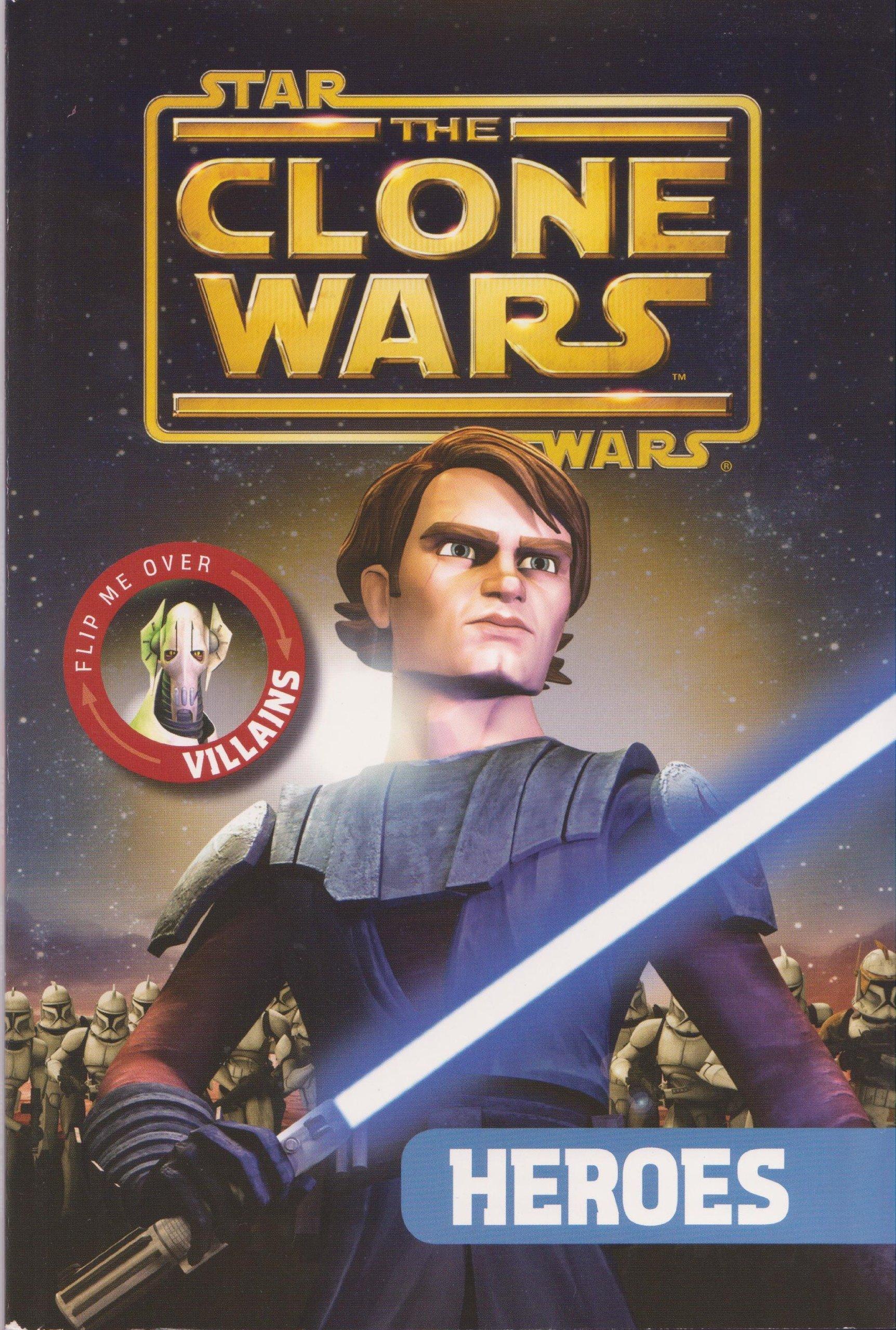 Clone Wars Flip Heroes Villans product image