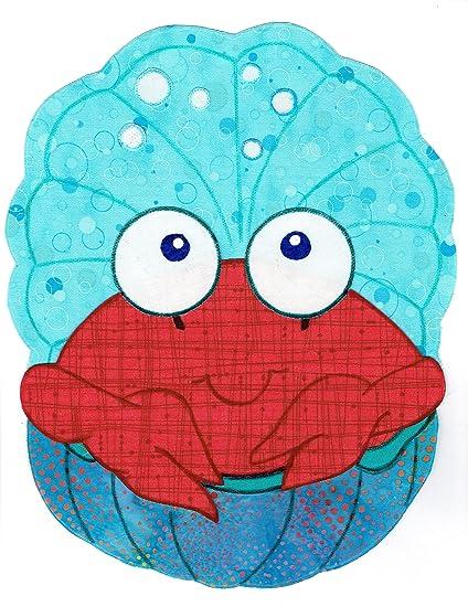 Amazon com: Baby Quilt Patterns, by Kiddie Komfies, Crab