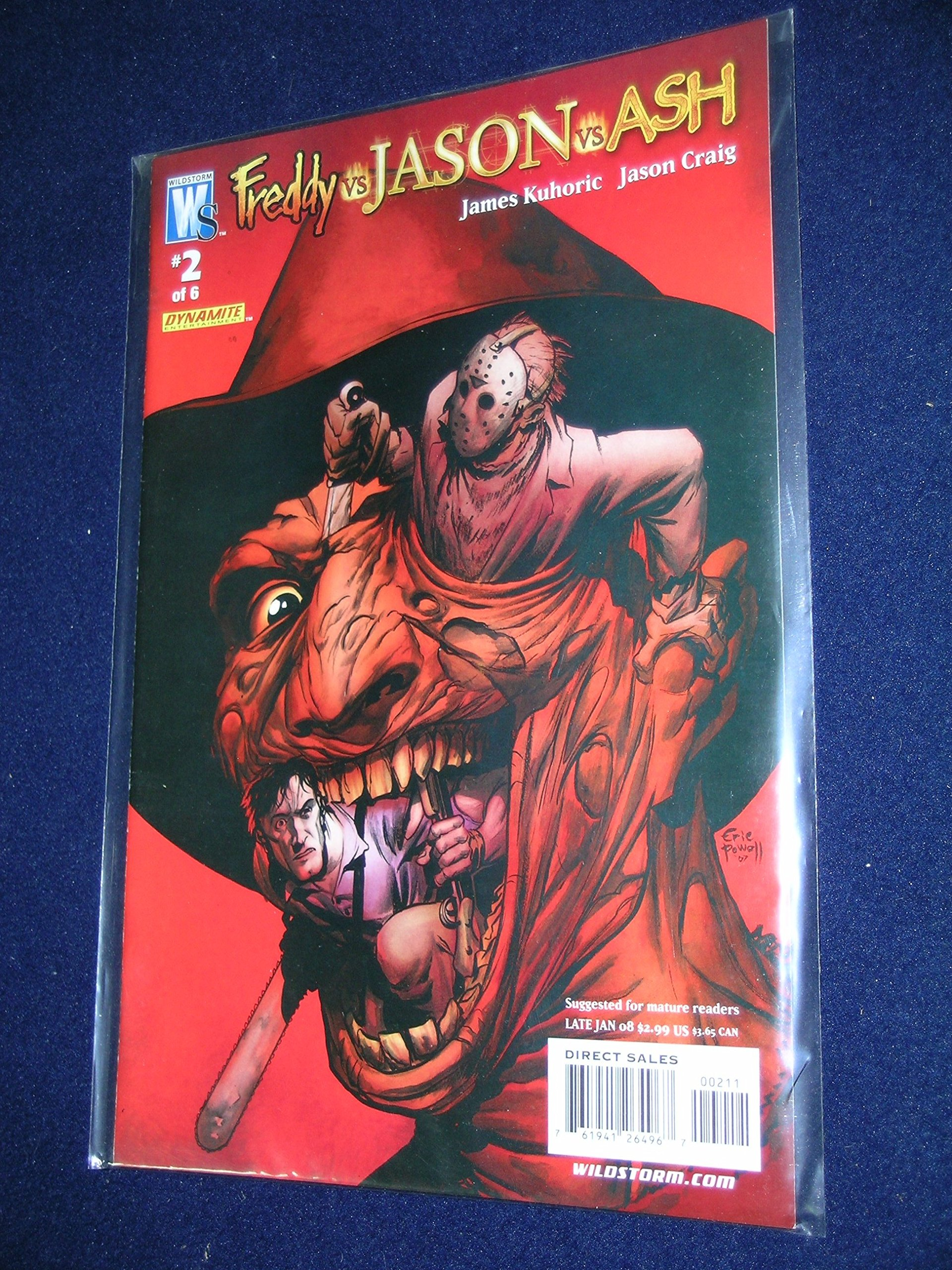 Freddy Vs. Jason Vs. Ash #2 (Wildstorm - DC Comics) pdf epub