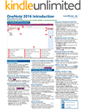 Microsoft OneNote 2016 Introduction Quick Reference Training Tutorial Guide (Cheat Sheet of Instructions, Tips & Shortcuts) (English Edition)