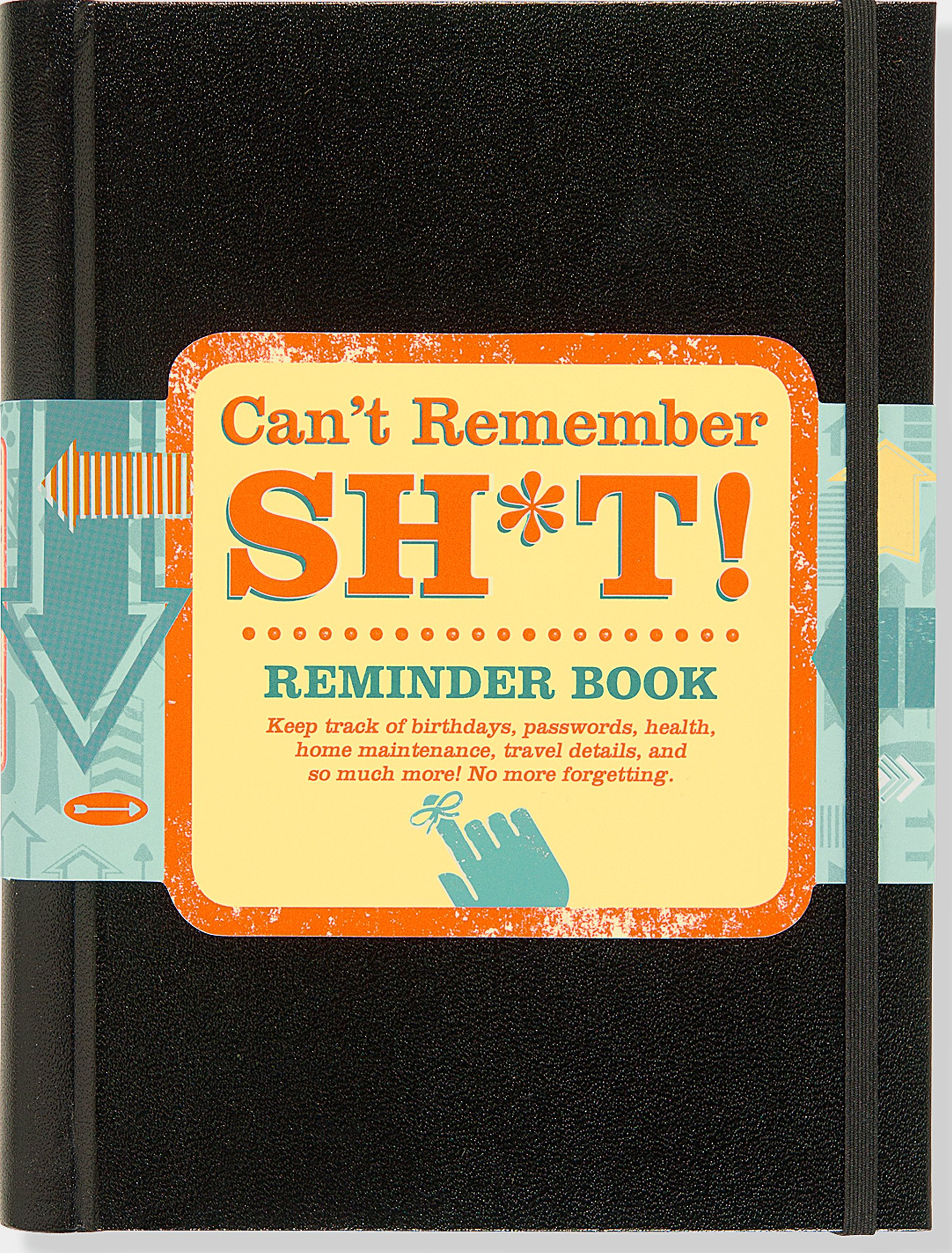 Can't Remember Shi*t Reminder Book Hardcover-spiral – Oct 23 2015 Peter Pauper Press 1441319441 Nonfiction/ Non-Classifiable
