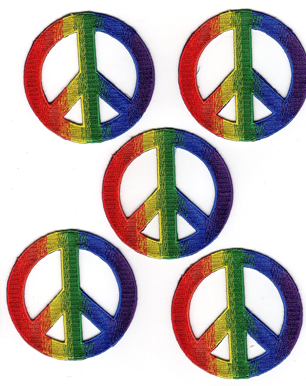 Psychedelic Peace Sign Patch