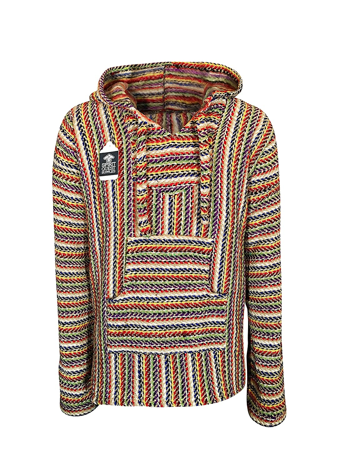 Mens Vintage Shirts – Retro Shirts BuddhaHood Baja Eco Hoodie | Choose Color & Size | Embrace Outdoors in Warmth! $36.99 AT vintagedancer.com