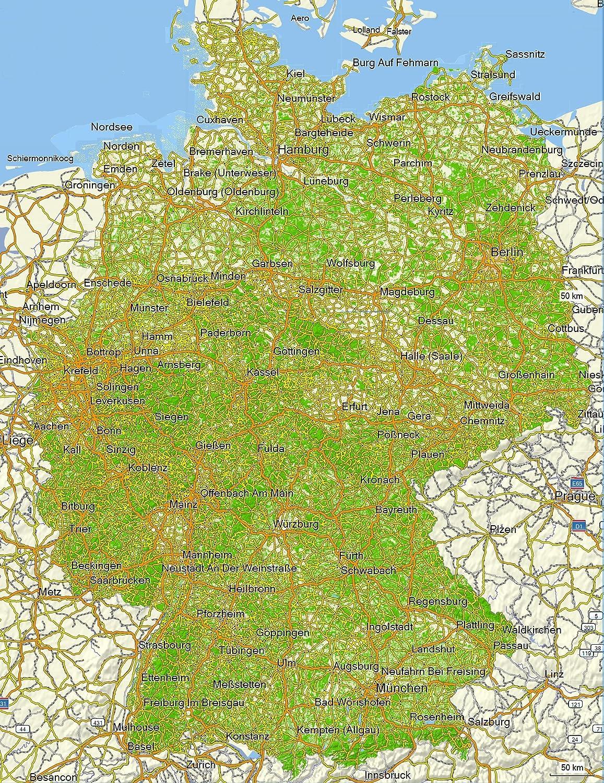 Topographische Karte Deutschland Kostenlos.Topographische Karte Deutschland Kostenlos My Blog
