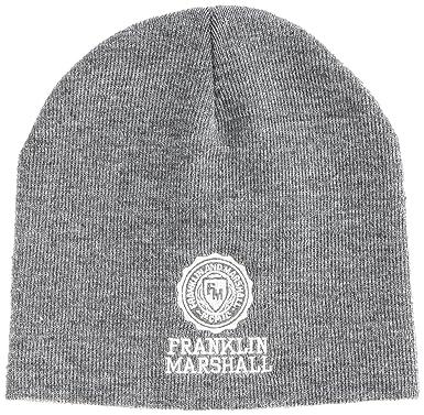 2c6dc5768ab Franklin   Marshall CPUA9008W13 Hat Grey Melange One Size  Amazon.co.uk   Clothing