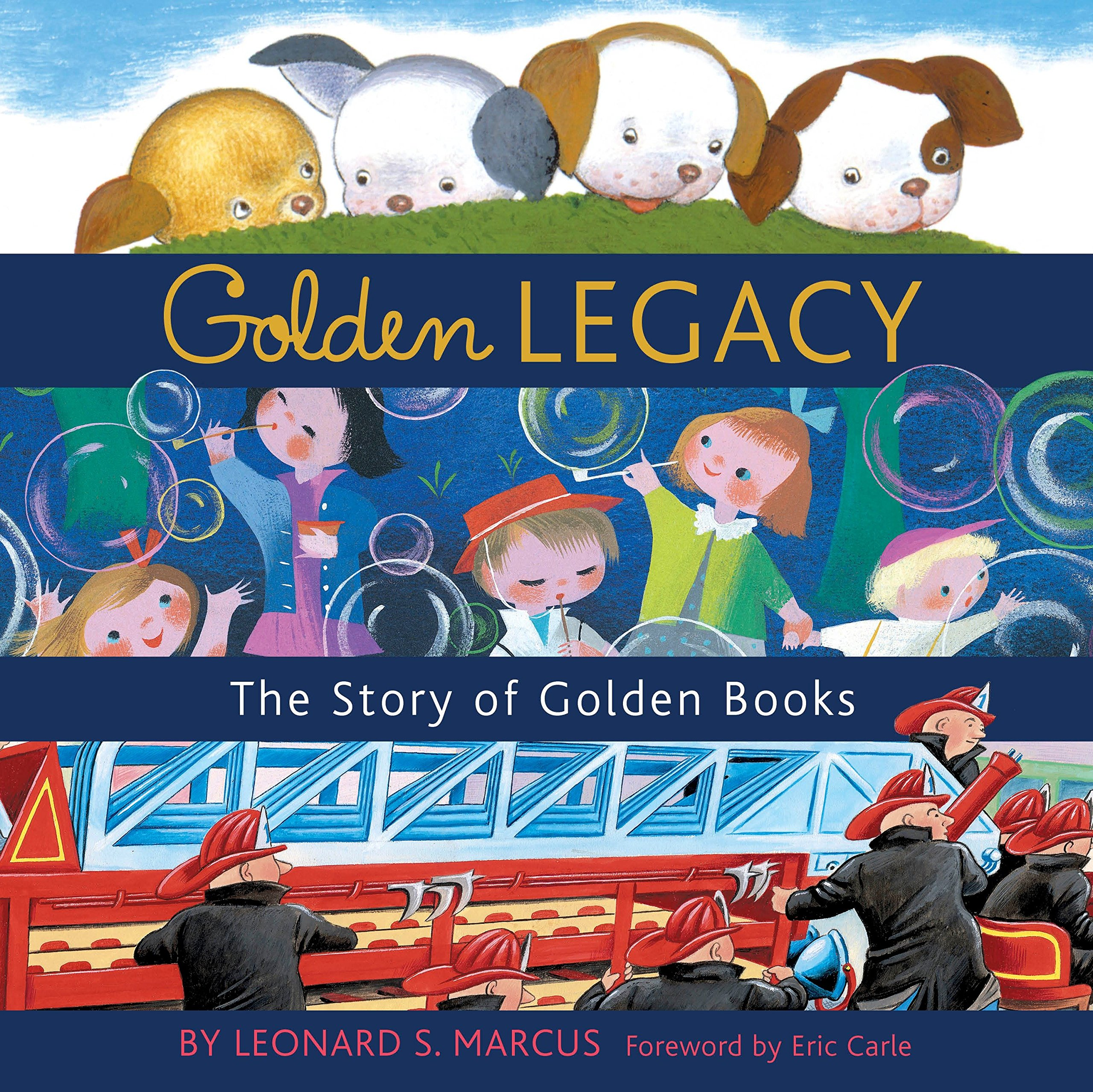 Read Online Golden Legacy: The Story of Golden Books (Deluxe Golden Book) pdf