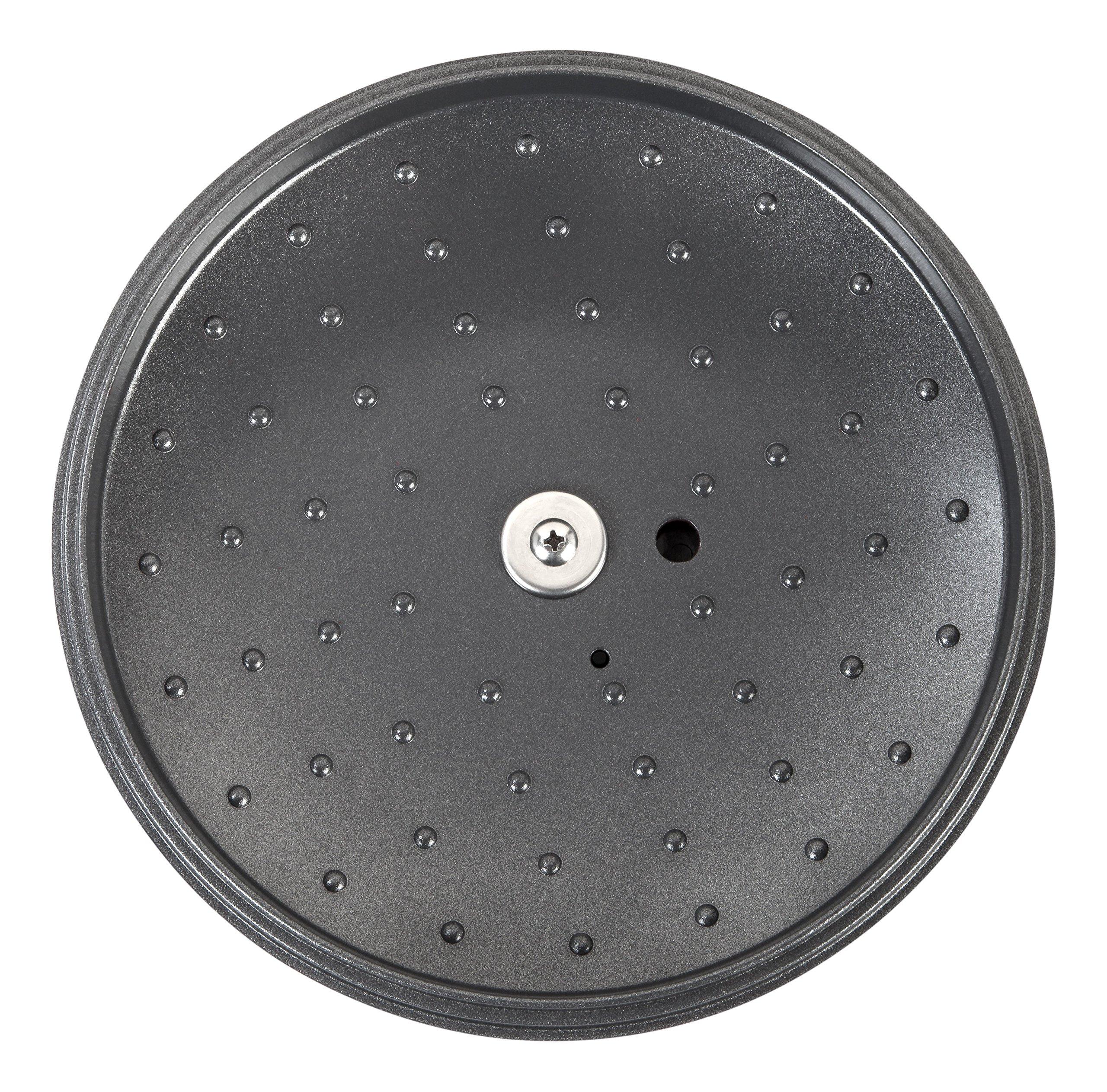 MAKER Homeware 3 QT Cast Aluminum Dutch Oven with Nonstick Ceramic Coating, Bronze by IRIS USA, Inc. (Image #5)