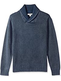 89261cb77e9 Amazon Brand - Goodthreads Men s Soft Cotton Shawl Pullover Sweater