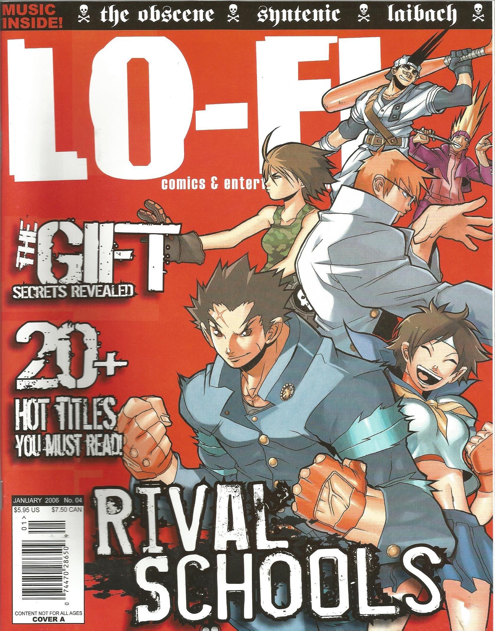 Download Lo Fi Magazine # 4 (January 2006) pdf epub
